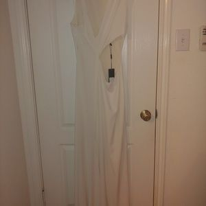 Halston designer dress